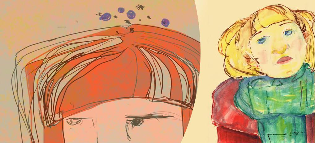 ilustracion perla riesco para el cuadernito